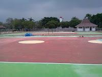 epoxy floor lapangan basket dan voli