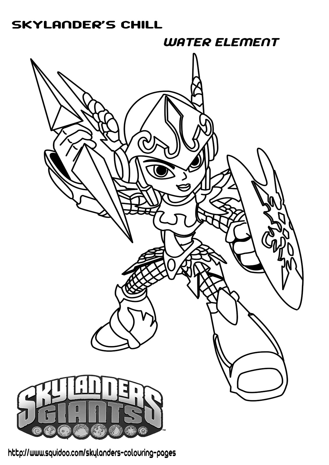 Skylanders hot head coloring pages ~ Printable Skylanders Coloring Pages – Feisty Frugal & Fabulous