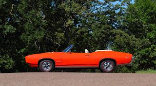 1969 Pontiac LeMans GTO Ram Air IV Convertible Side Left