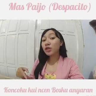 Lirik Lagu Mas Paijo - Balasan Dek Lastri Despacito versi Jawa
