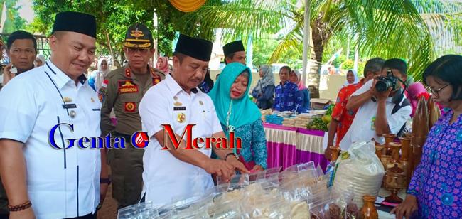 Desa Sawojajar Wakili Kotabumi Utara Lomba Desa Tingkat Kabupaten Lampura