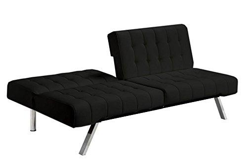 Tinuku Store Sofa DHP Emily Convertible Futon Hitam