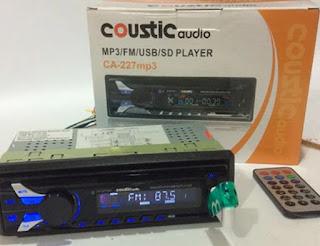 gambar tape mobil merk coustic