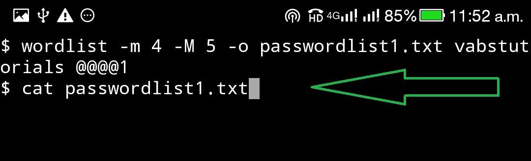 How to create Wordlist / Password list (Creating a Custom