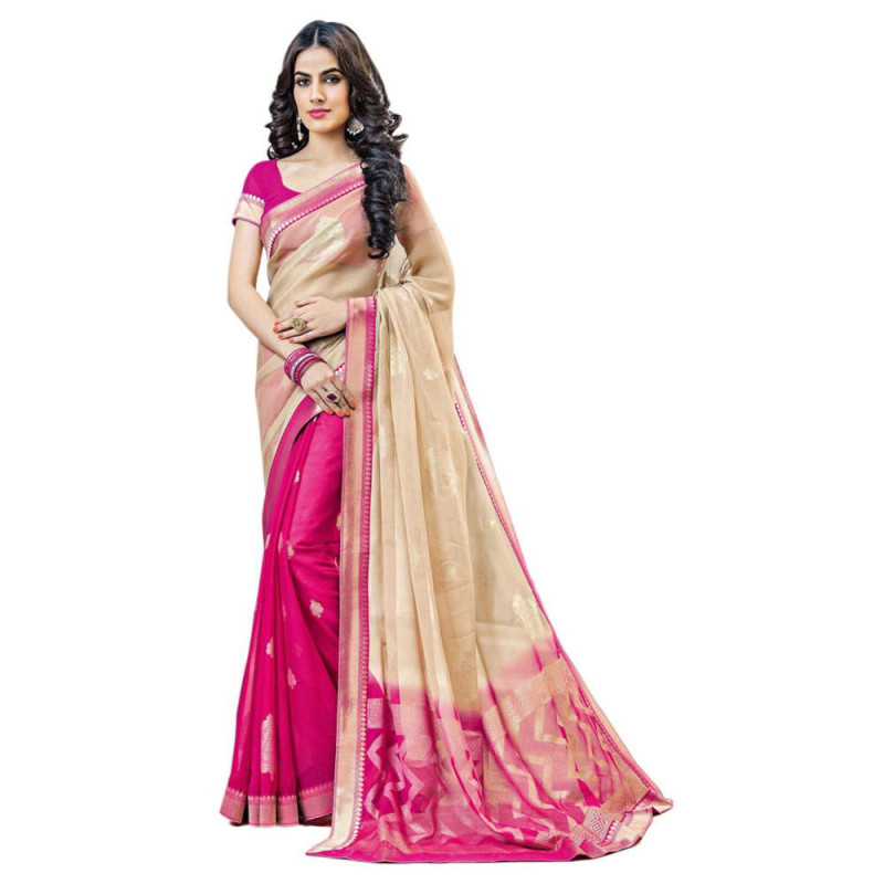 Chiffon Saree - 5 Types of Sarees You Must Own For Summer Styling