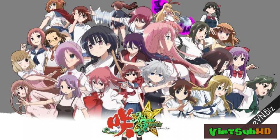 Phim Saki Zenkoku-hen Full 13/13 VietSub HD | Saki Zenkoku-hen 2014