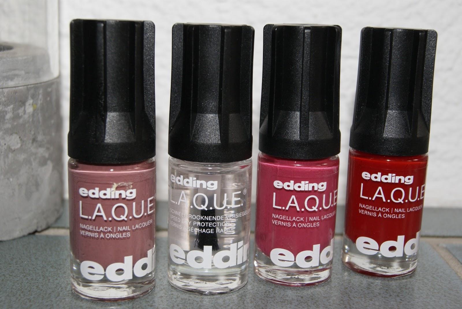 Ladylike - but never old-fashioned: Die neuen edding L.A.Q.U.E ...