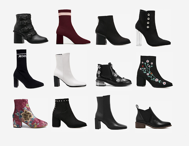 Zaful booties boots čizme