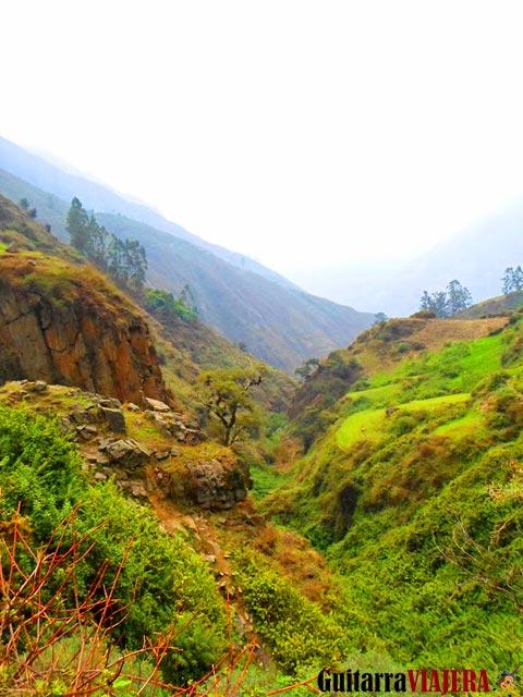 Camino a catarata de Palacala