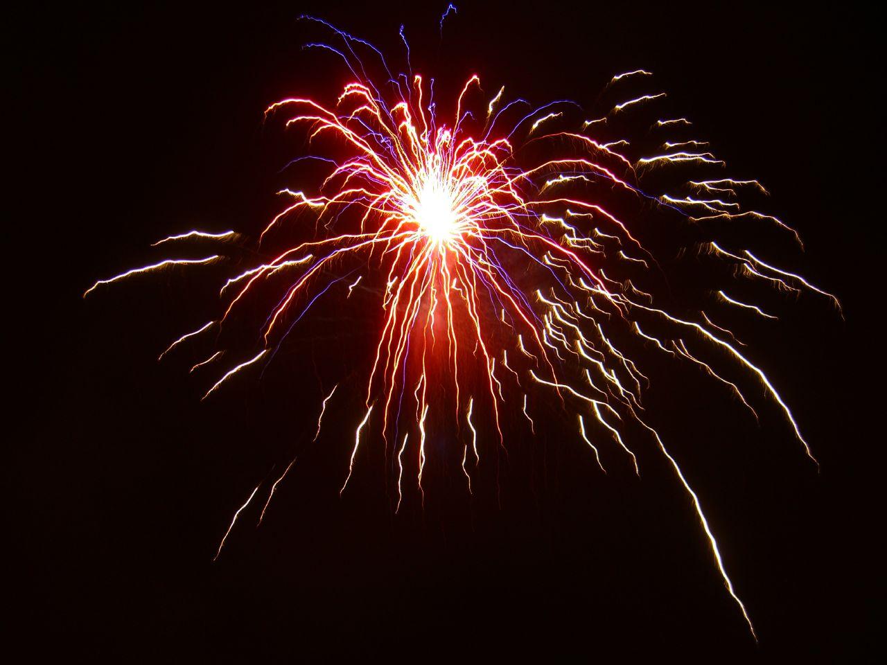 fireworks taken in hawaii 2006