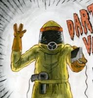 Extraterrestre con tres dedos