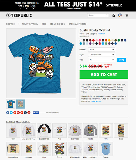 https://www.teepublic.com/t-shirt/1458786-sushi-party