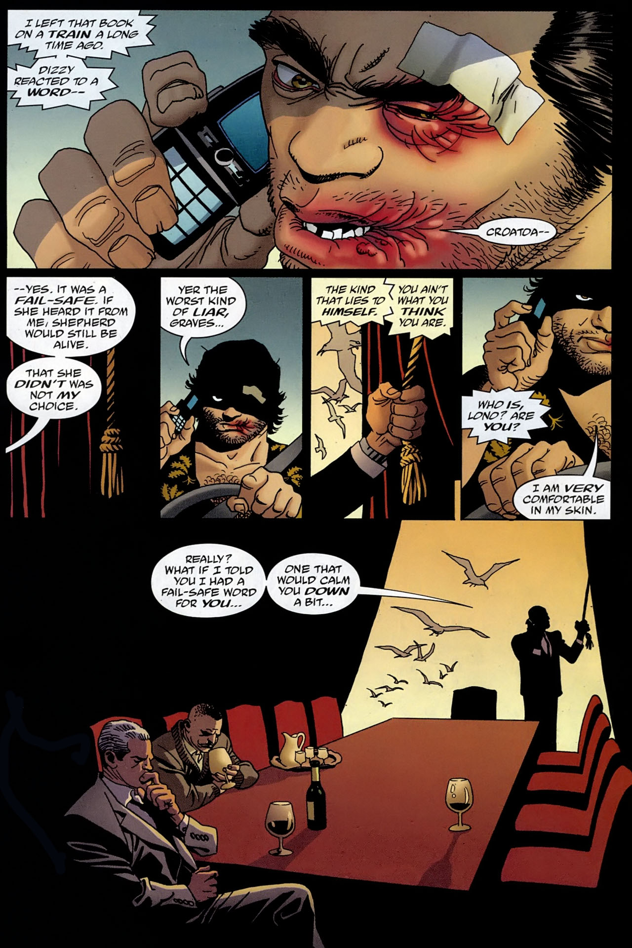 Read online 100 Bullets comic -  Issue #96 - 15