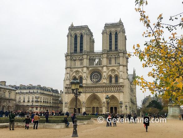 Notre Dame de Paris Katedrali gezimiz