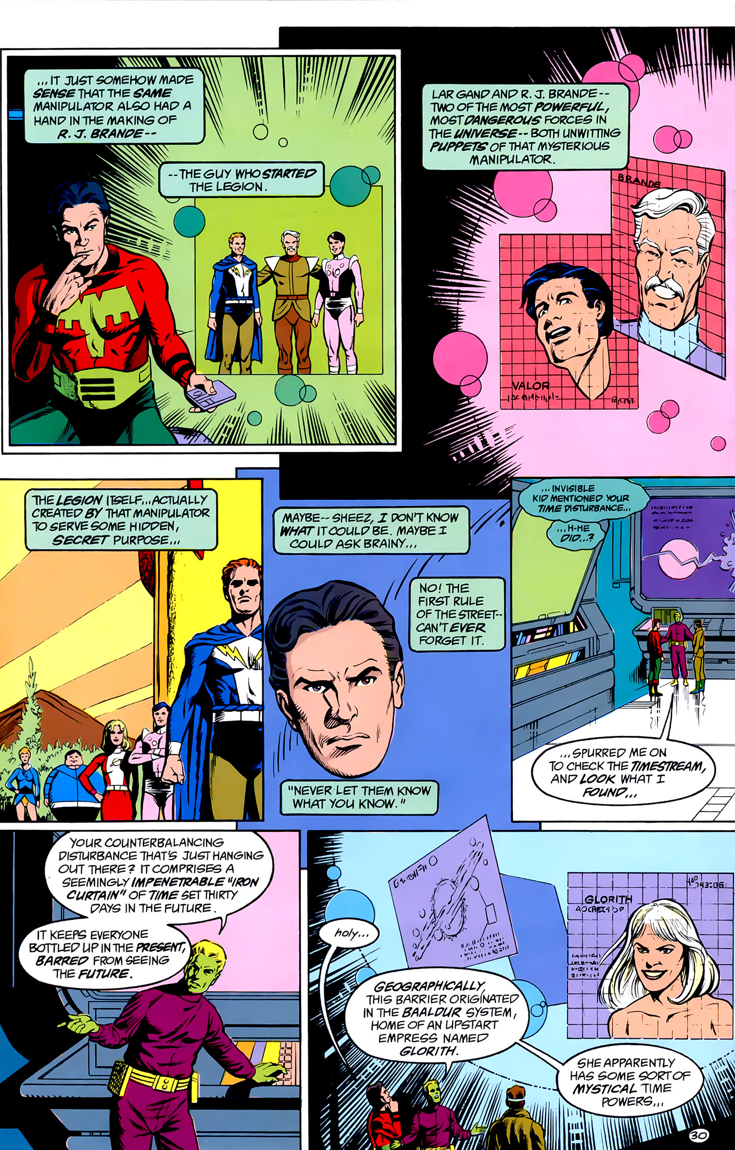 Legion of Super-Heroes (1989) _Annual_1 Page 30