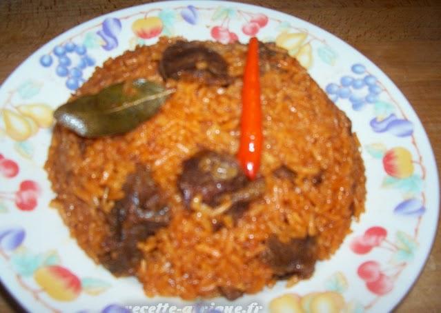 Riz au gras recettes ivoiriennes cuisine d 39 afrique et d 39 ailleurs par marie reine - Recette de cuisine senegalaise ...