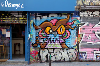 Sunday Street Art : Nite Owl - rue Dénoyez - Paris 20