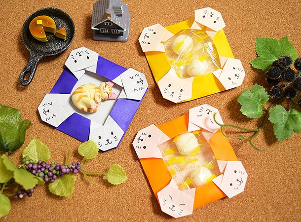 Cách gấp, xếp cái đĩa đựng đồ hình con mèo bằng giấy Origami