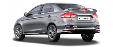 Maruti Suzuki Ciaz 2018 Facelift rear look Hd Images