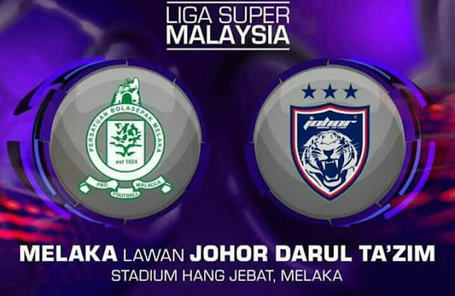 Live Streaming Melaka United vs JDT 6.5.2017 Liga Super