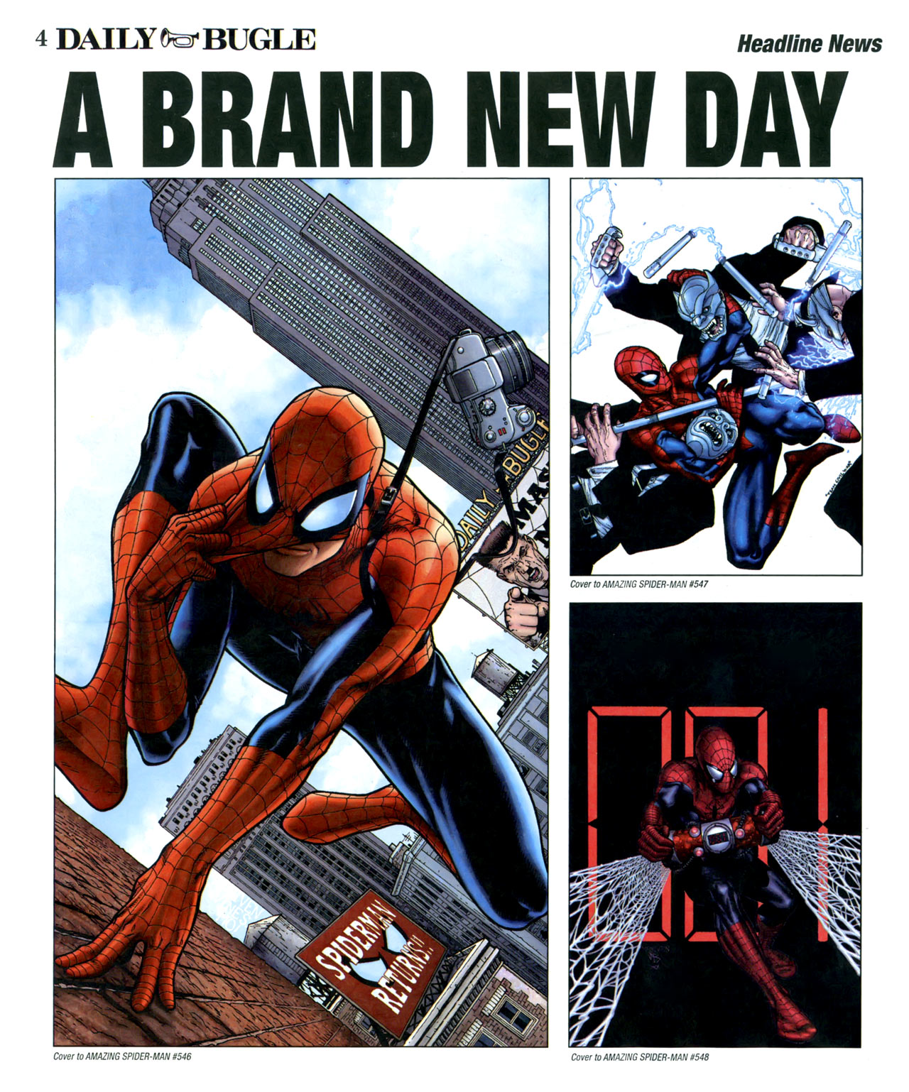 Read online Daily Bugle (2006) comic -  Issue #16 - 5