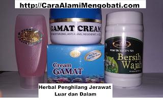 Obat alami herbal penghilang jerawat bersih wajah berBPOM asli