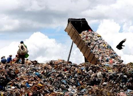 Imagem de um lixão