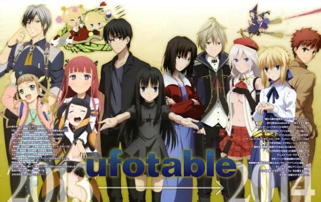 Daftar Rekomendasi Anime Buatan Studio Ufotable Terbaik