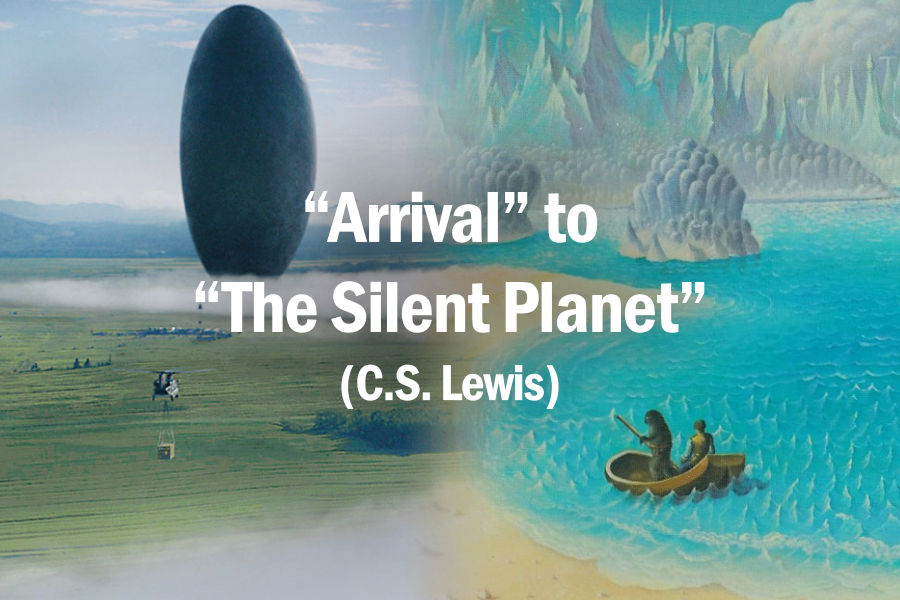 """Arrival"" to ""The Silent Planet"" (C.S. Lewis)"
