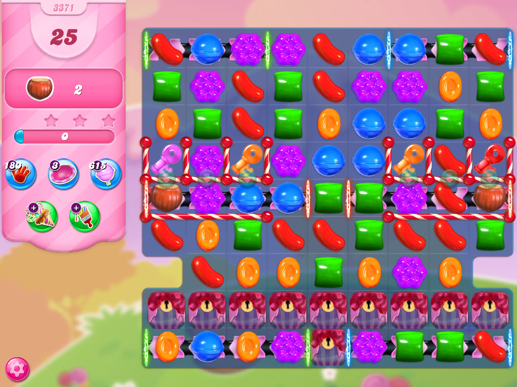 Candy Crush Saga level 3371