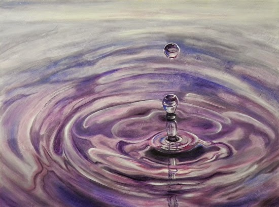 Daily Painters Abstract Gallery: Abstract Water Ripple Art ...