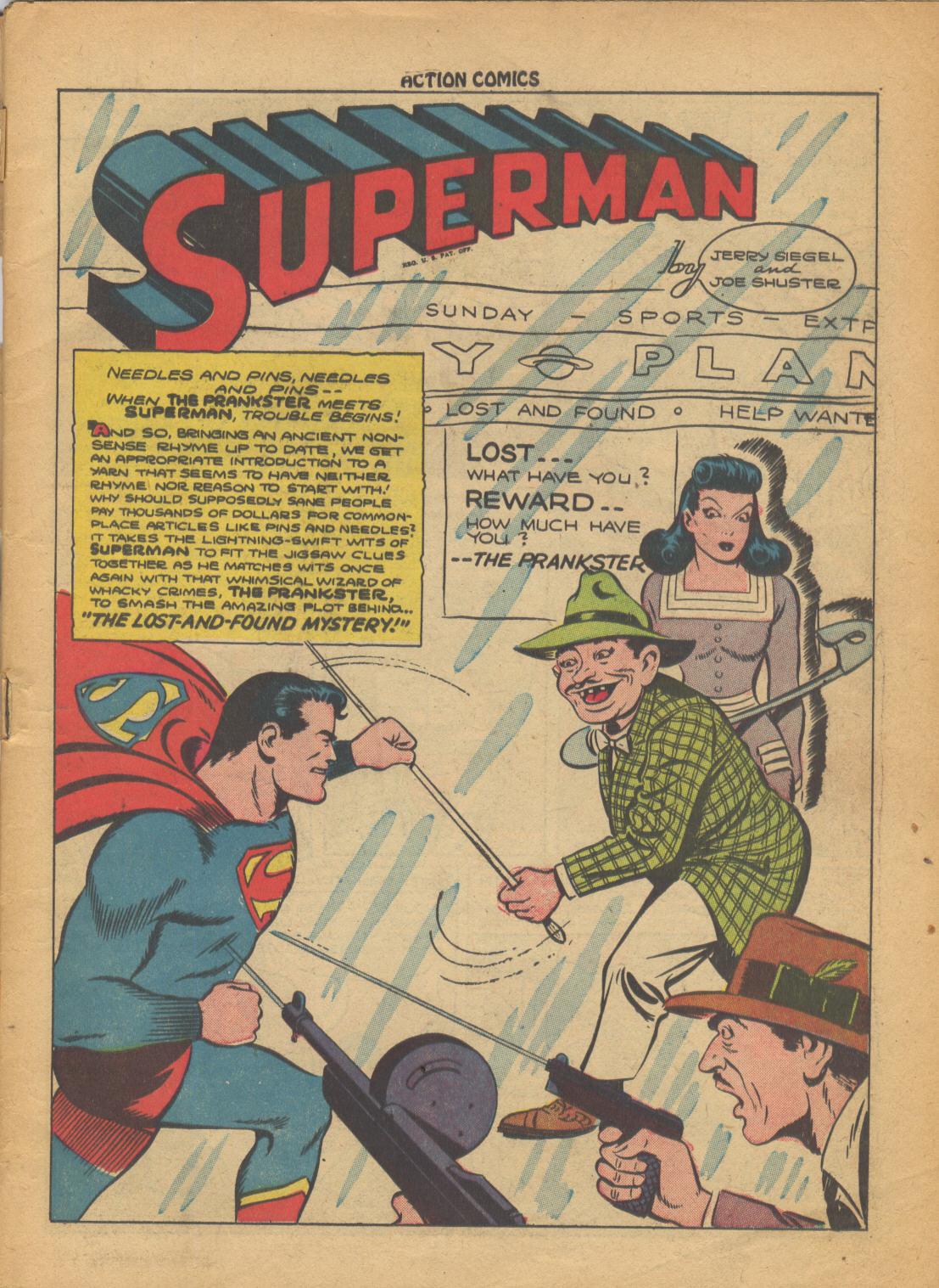 Action Comics (1938) 69 Page 1