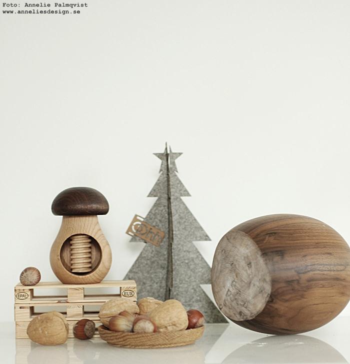 annelies design, webbutik, webbutiker, webshop, nätbutik, nätbutiker, nötknäckare, svamp, svampar, knäckare, nötter, hasselnöt, hasselnötter, gran, granar, Oohh, jul, julpynt, inredning,