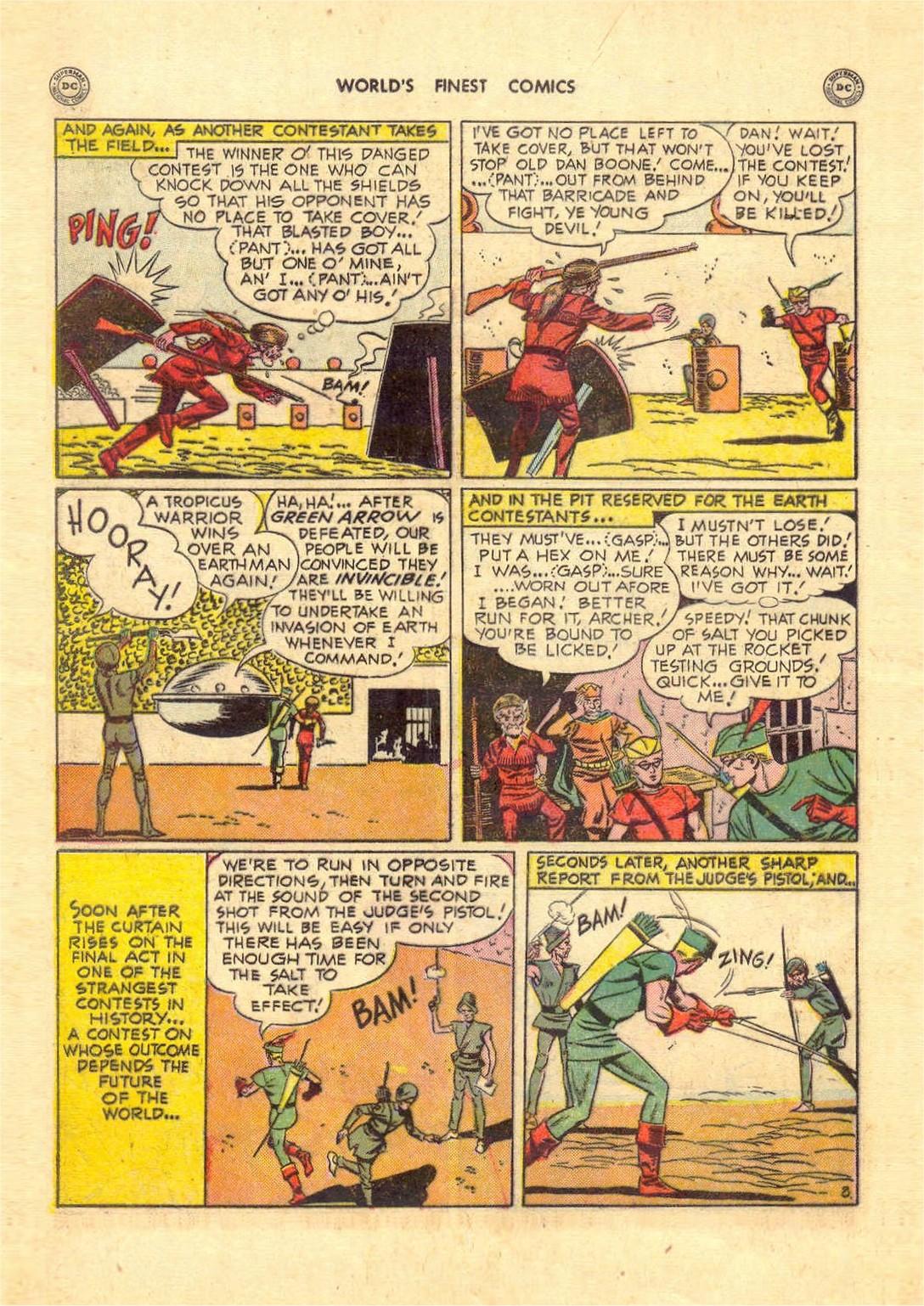 Read online World's Finest Comics comic -  Issue #52 - 48