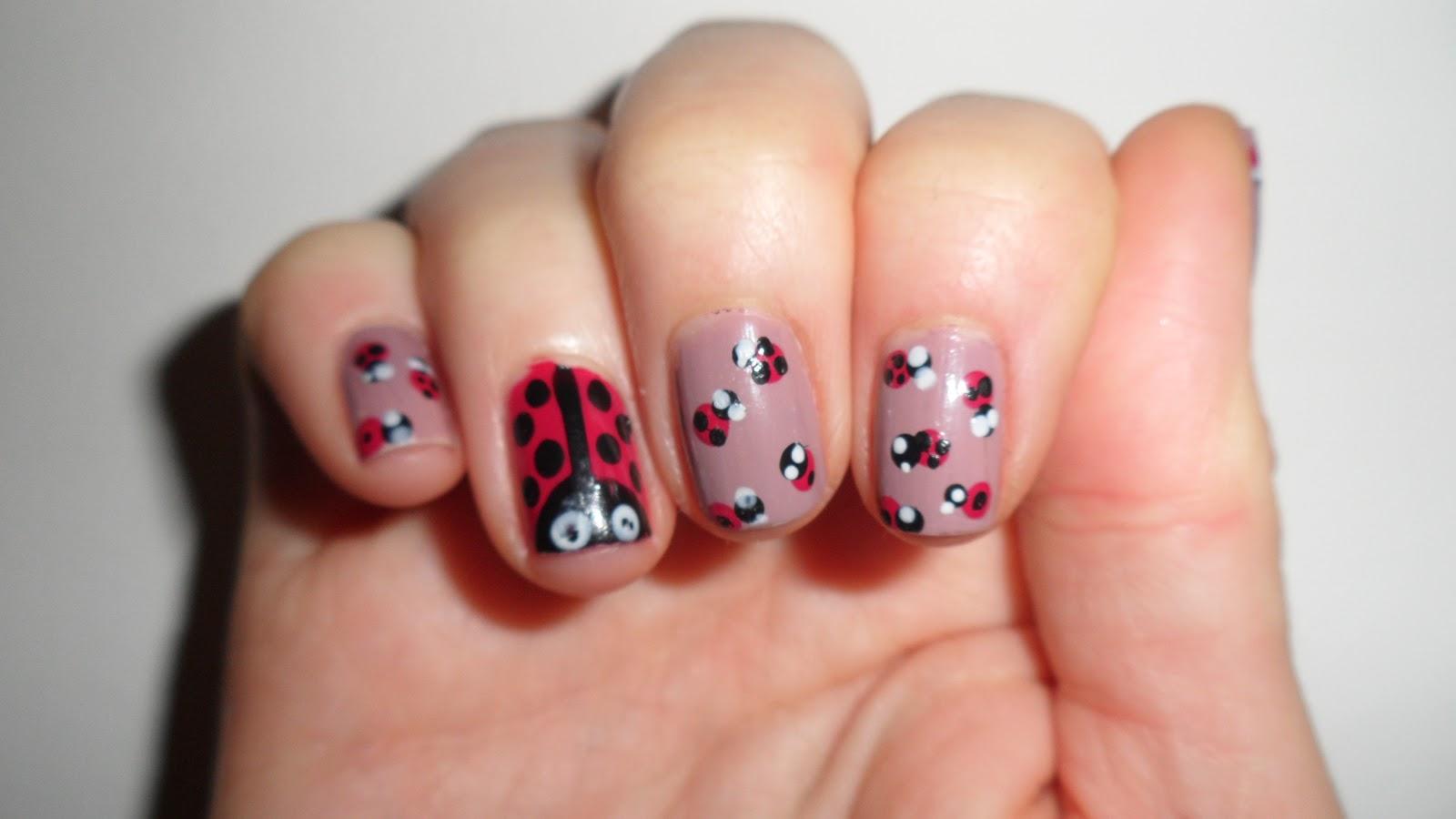 Nailificent: Ladybug Nail art