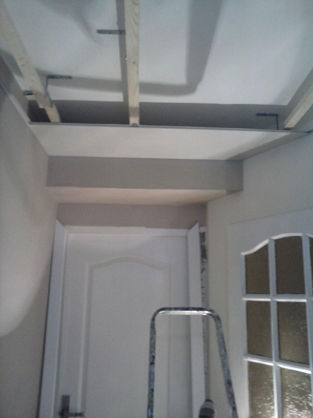 schema pose lambris pvc plafond. Black Bedroom Furniture Sets. Home Design Ideas