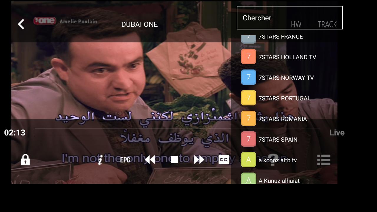 IPTV Nilesat channels m3u super stable on VLC - IpMagTv
