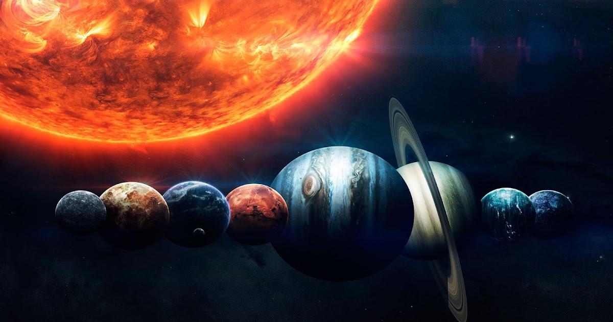 Fotos Animadas Para Papel De Parede 3d Para Notebook: Papel De Parede Planetas Do Sistema Solar