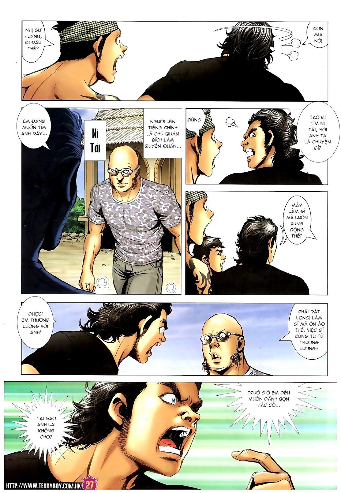 Người Trong Giang Hồ - Chapter 1392: Hắc Thế Lực Lào - Pic 24
