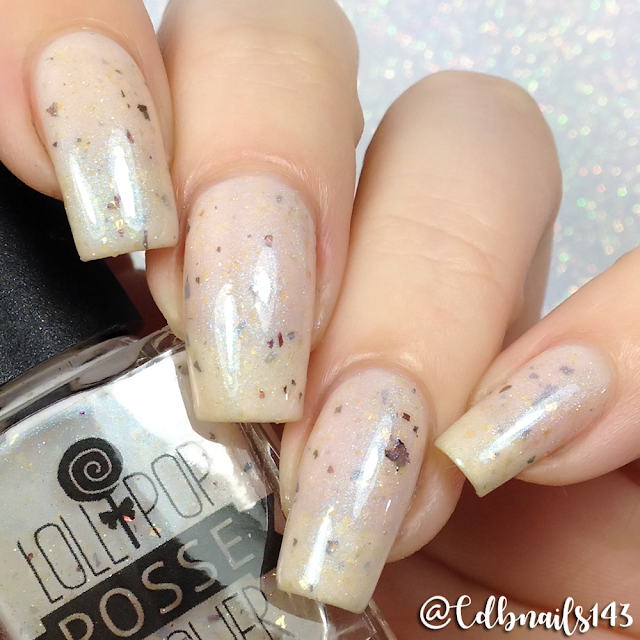 Lollipop Posse Lacquer-Bare Boned And Crazy