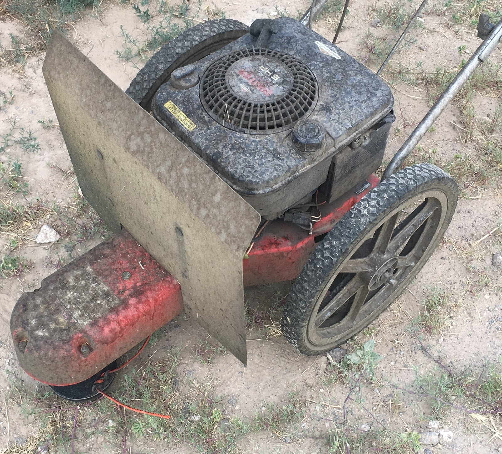 Syonyk's Project Blog: Briggs & Stratton Quantum 5HP Recoil