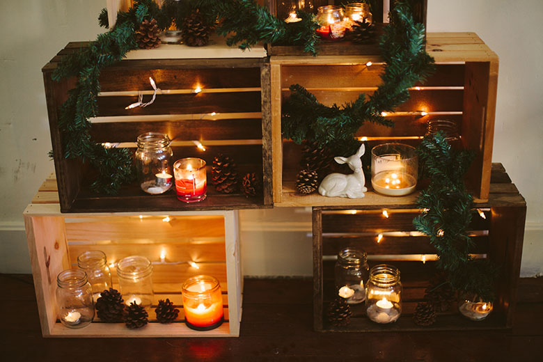 Sincerely, Kinsey: Wooden Crate Christmas Tree