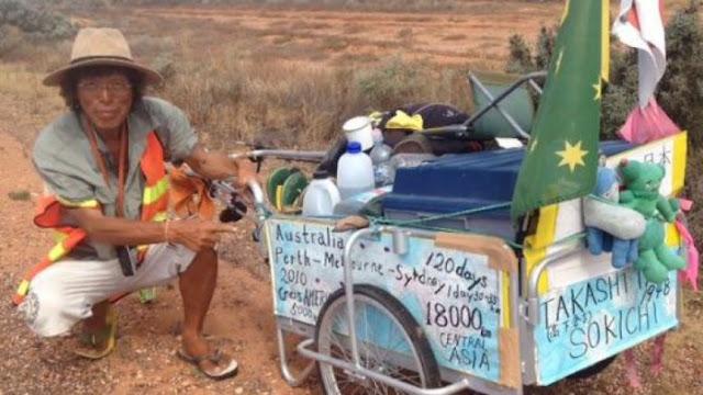 Pria Ini Butuh 9 Tahun Keliling Dunia dengan Berjalan Kaki, Akhirnya Dia Tiba di 'Ujung Dunia'