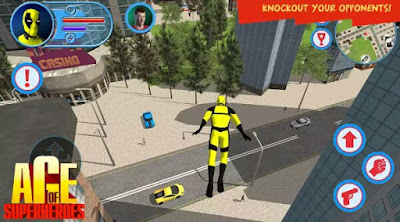 Download Age Of Superheroes Apk + MOD (Unlimited Money)
