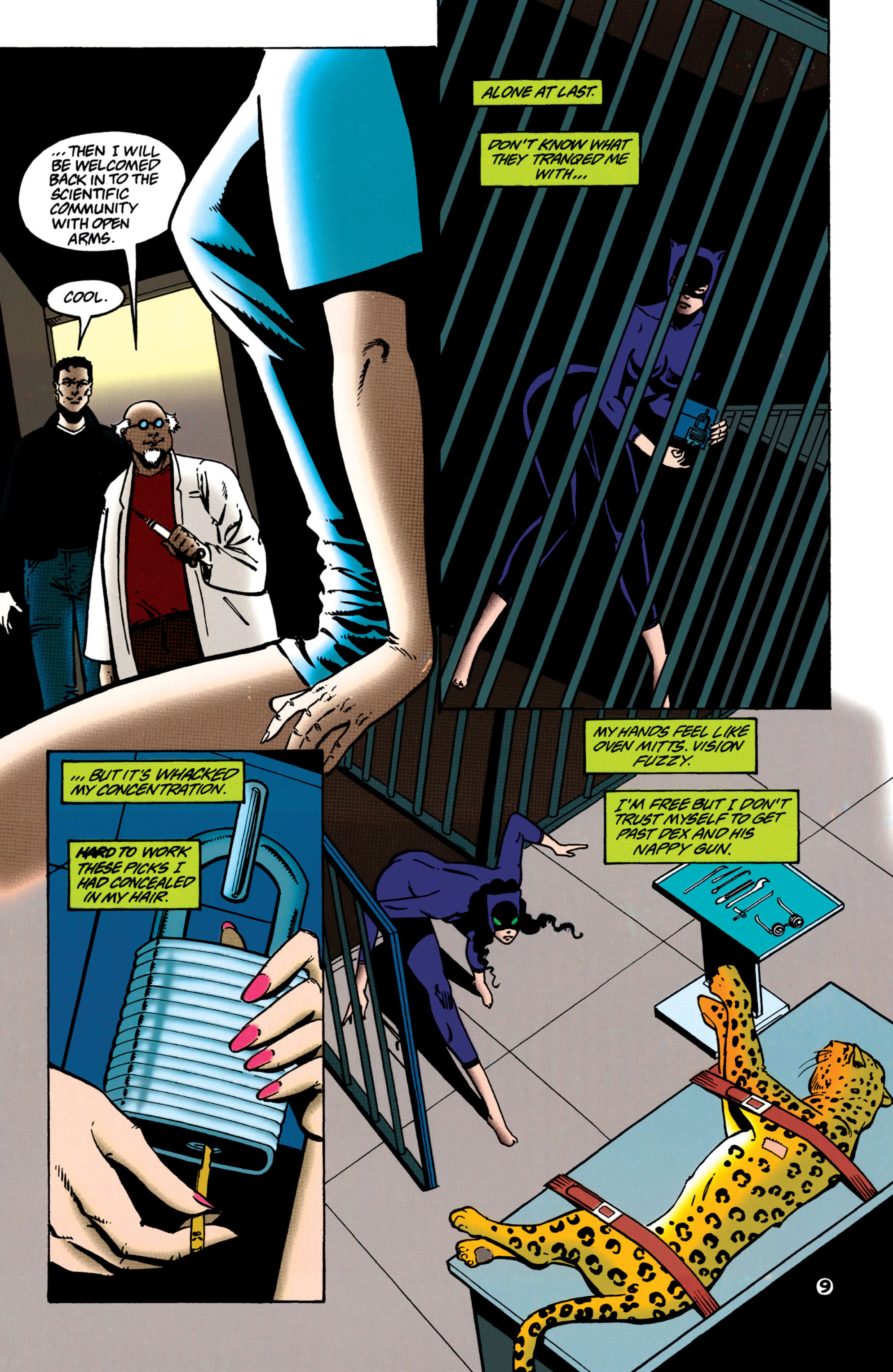 Catwoman (1993) Issue #37 #42 - English 10