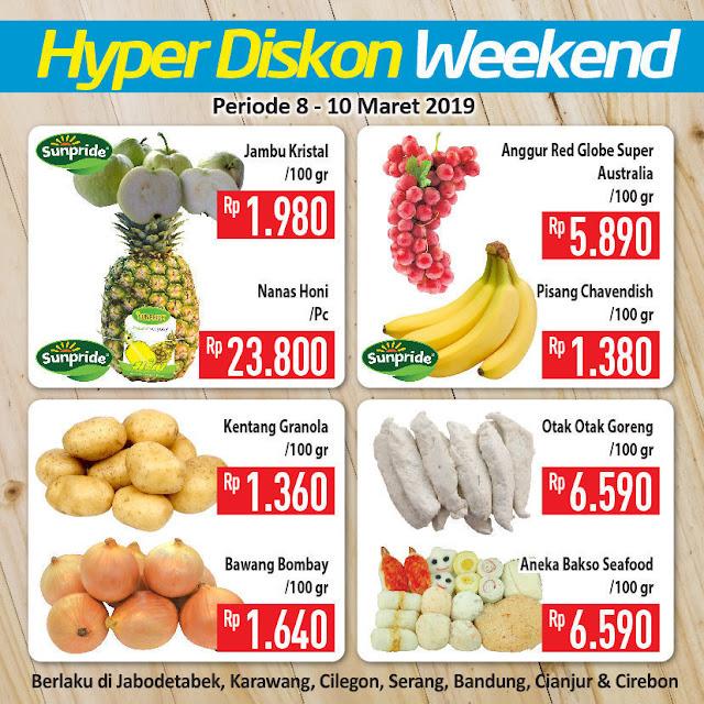 #Hypermart - #Promo #Katalog JSM Periode 08 - 10 Maret 2019