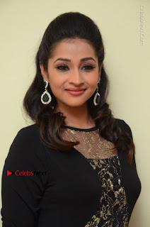 Telugu Actress Manasa Manohar Stills in Black Long Dress at Naku Nene Thopu Turumu Trailer Launch  0024.JPG