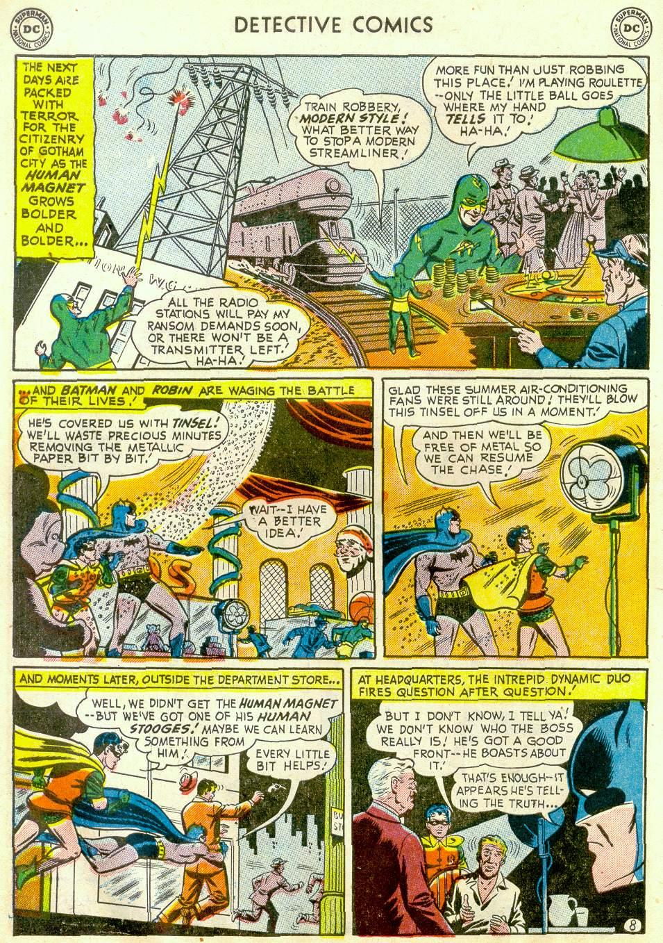Read online Detective Comics (1937) comic -  Issue #181 - 10