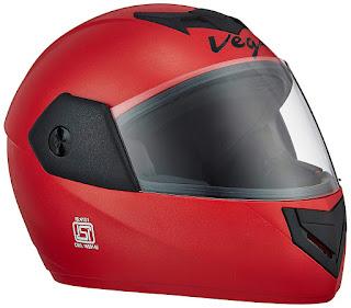 Helmet red color