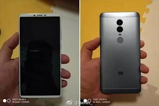 Muncul lagi  !!! Xiaomi Redmi Note 5 Bawakan Fitur Kamera Ganda